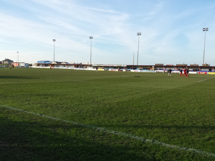 The main stand at Prestatyn