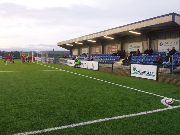 One of Airbus' many corners in the 2nd half