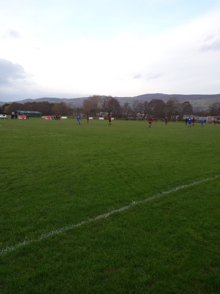Back down the other end for another Ruthin goal