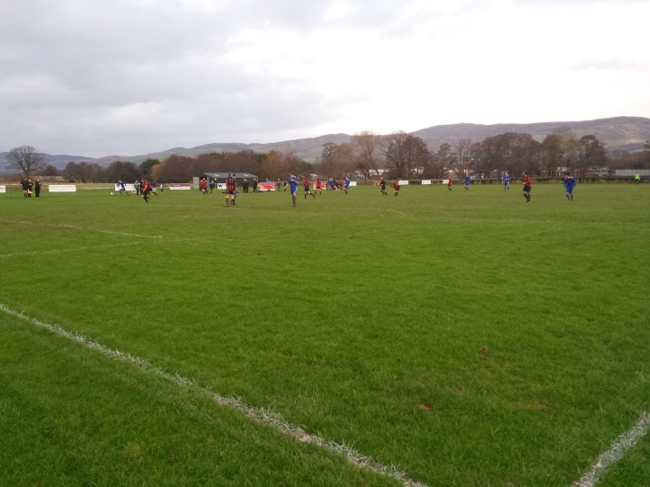 Ruthin on the attack