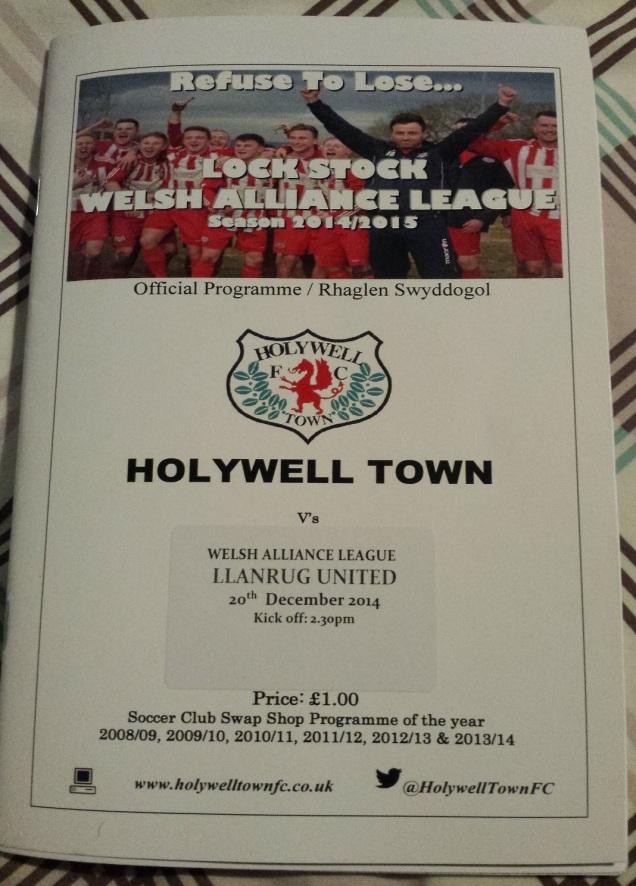 Holywell's award winning programme