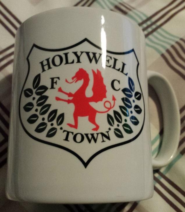 One of the Holywell mugs bought!