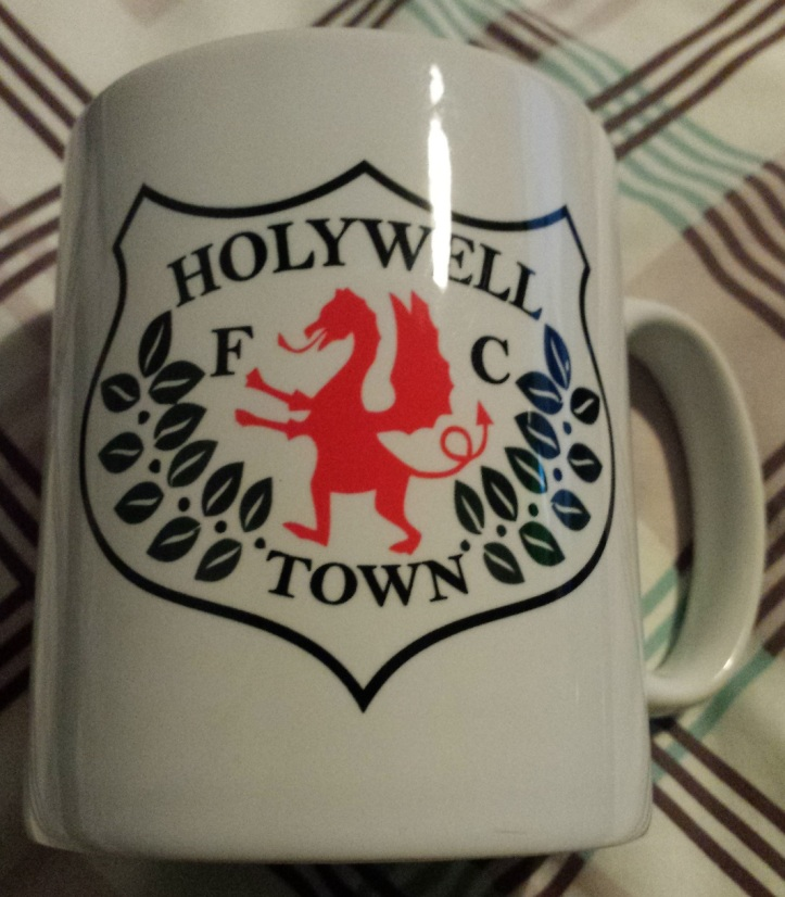 One of the Holywell mugs bought!