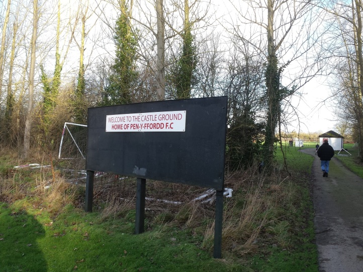 Entrance to the ground