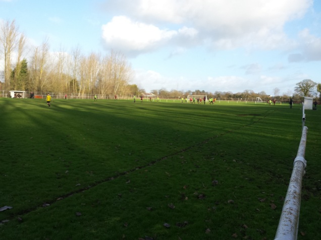 The Castle Ground - home of Penyffordd