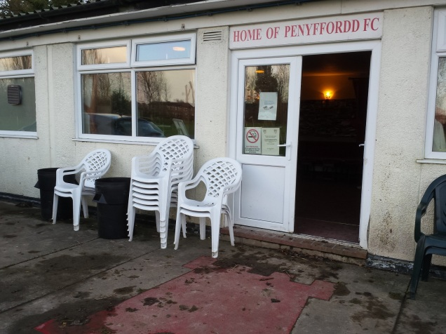 Clubhouse of Penyffordd