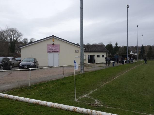 The Rhydymwyn clubhouse