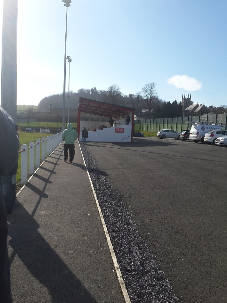 The main stand at Central Park