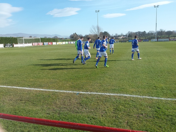 Caersws come out first