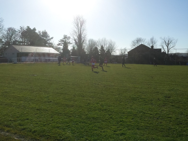 Caerwys on the attack in the sun!