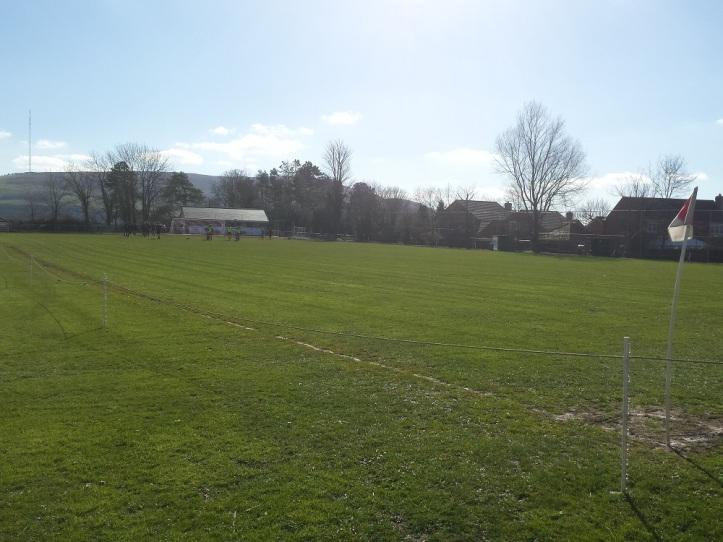 Lon yr Ysgol - Caerwys' ground