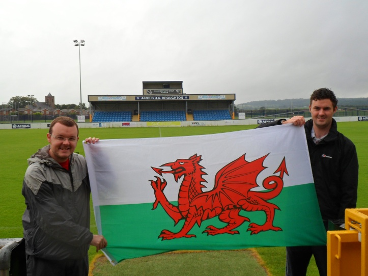 The start of the 1888 Challenge Tour in July 2013 at Airbus UK Broughton