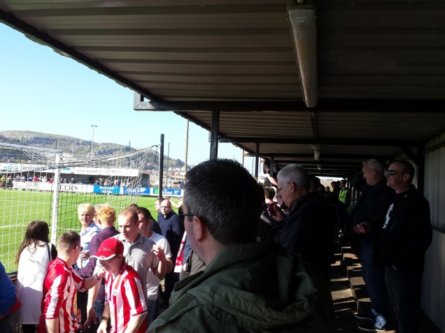 The Holywell fans are agog!! (great word)