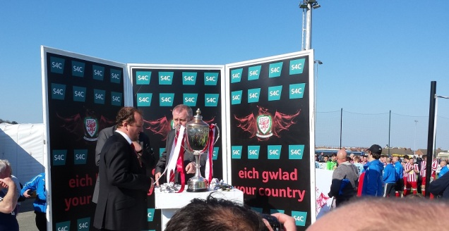 The FAW Trophy!