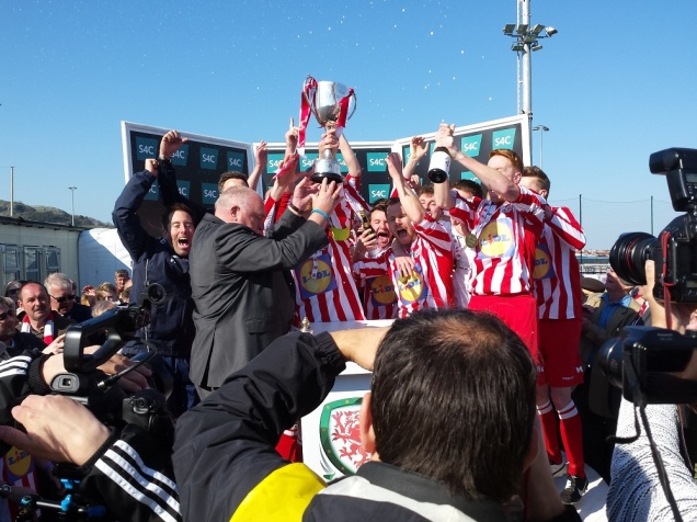 The trophy lift!
