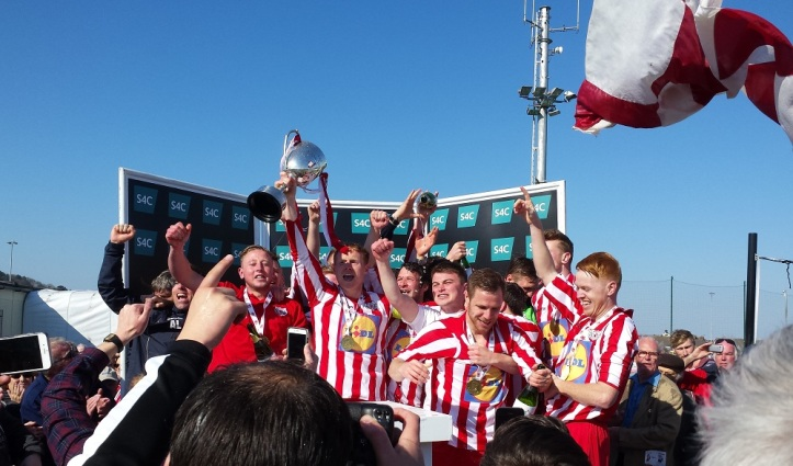 Holywell Town are the 2014-15 FAW Trophy winners!!!