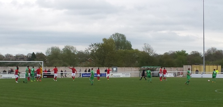 Nantwich on the attack