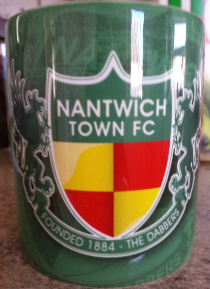 The Nantwich Town mug now added to the collection!