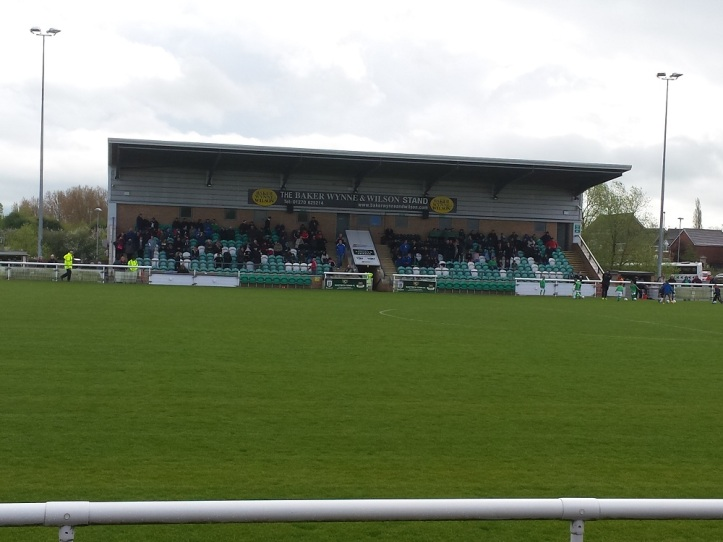 The Main Stand from the opposite side of the pitch