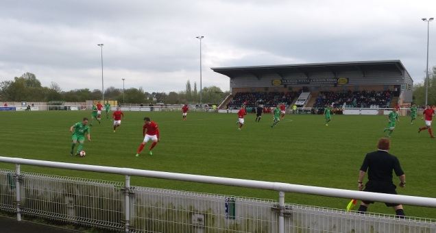 Nantwich working their way into the match