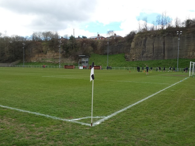 The view from the entrance of the ground