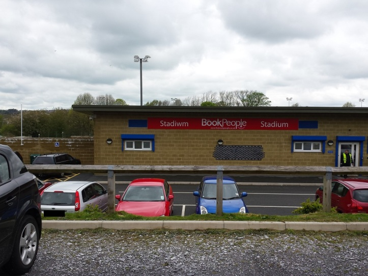 Welcome to the Nantporth Stadium