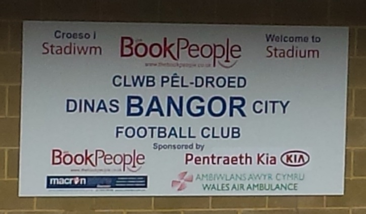 Home of WPL team Bangor City