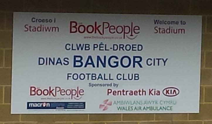 Home of WPL team Bangor City