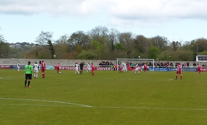 Holywell go looking for the equaliser