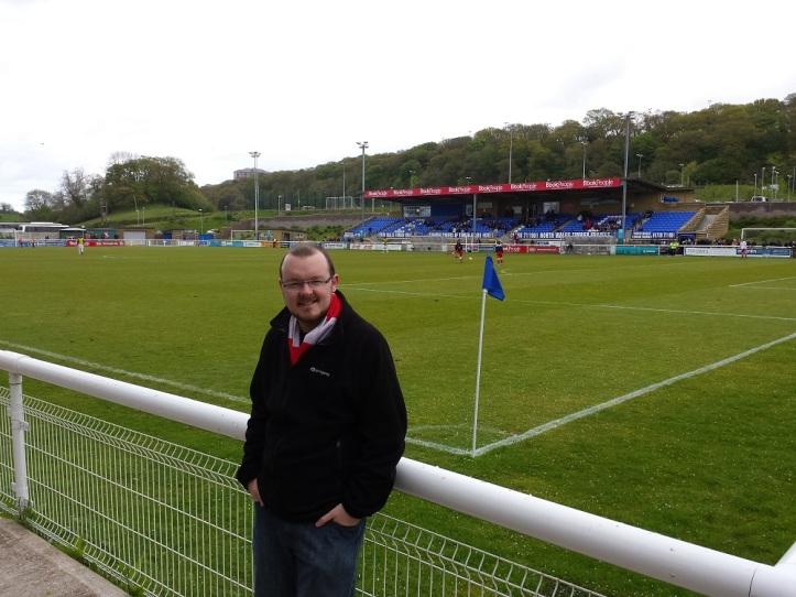 Celebrating my 50th ground visited