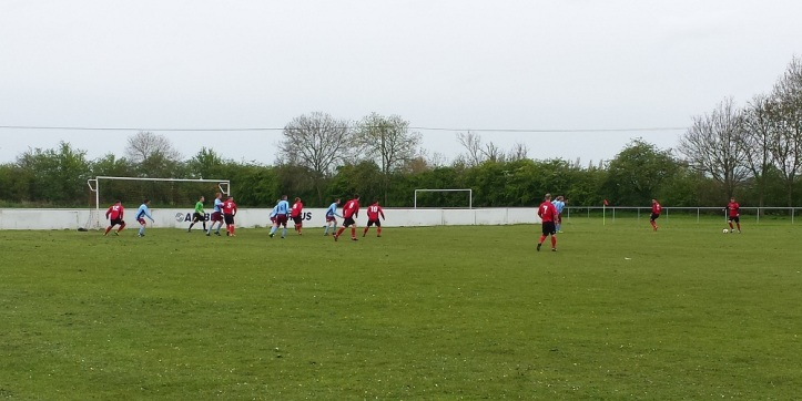 Saltney on the attack