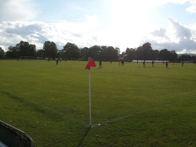 Clappers Lane - home of Gresford Athletic