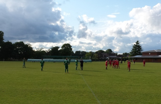 The Academy XI (green) vs Gresford (red)