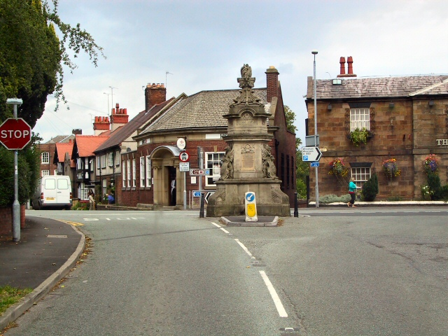 The village of Hawarden [taken from http://www.geograph.org.uk/photo/43411]