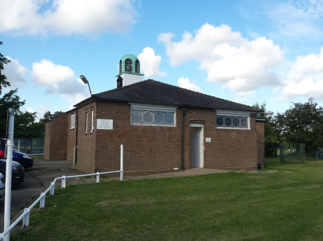 Hawarden's communal changing rooms