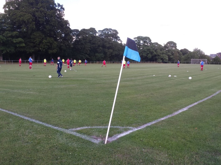 Holywell on the pitch