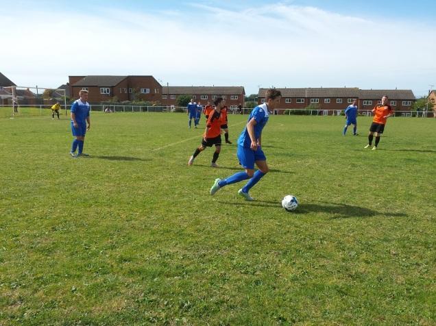 Amlwch's main attacking threat - the substitute