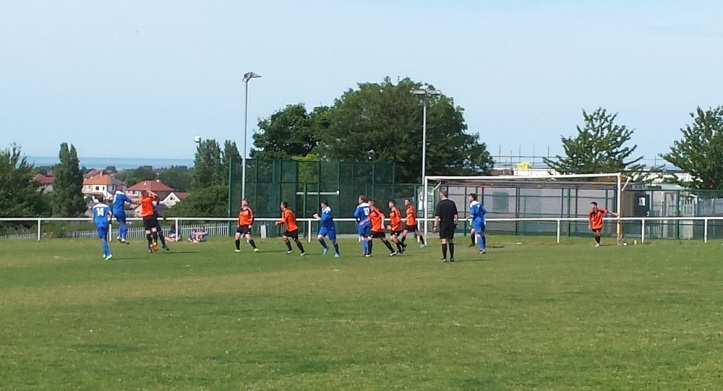 Amlwch on the attack