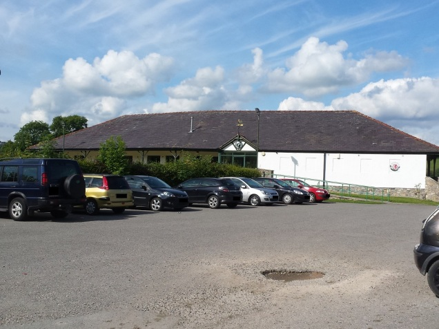 The clubhouse at Corwen