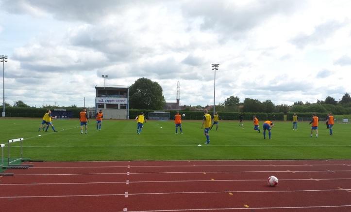 The Bluebirds pre-match