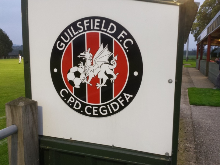 Badge on the side of the dugouts