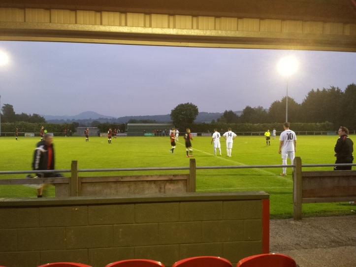 Viewing position from the main stand