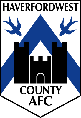 Haverfordwest County's badge