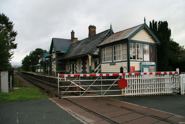 Caersws Train Station
