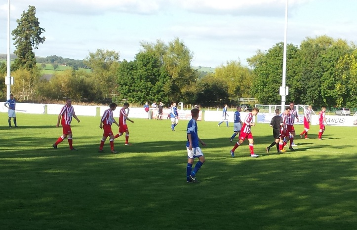 Holywell double their lead