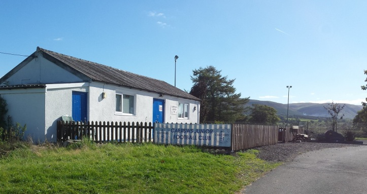 Caersws Juniors clubhouse