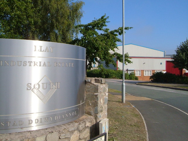 Llay Industrial Estate [Taken from http://www.geograph.org.uk/photo/204706 ]