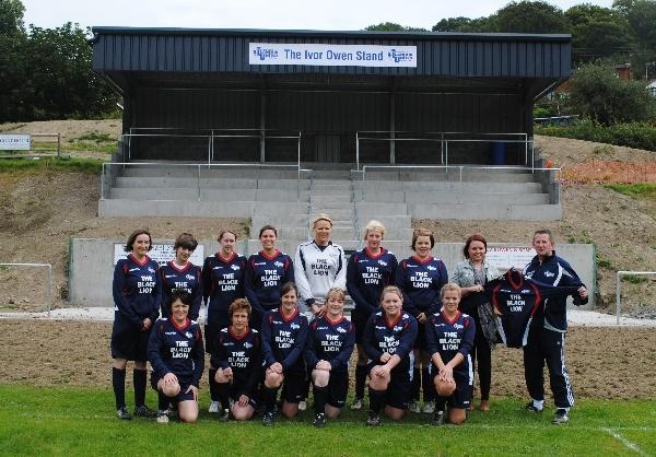 Llanfair Ladies 2012-13