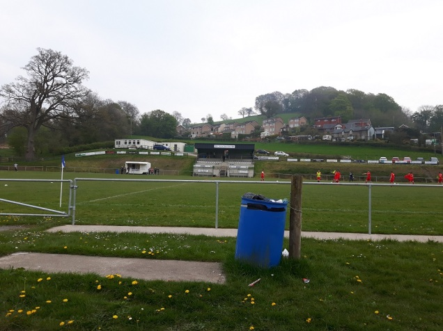 Llanfair Utd vs Holywell Town - 7th May (1)