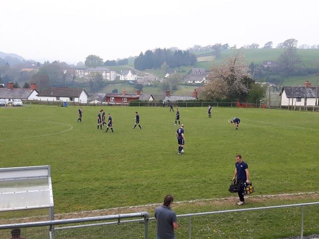 Llanfair Utd vs Holywell Town - 7th May (12)